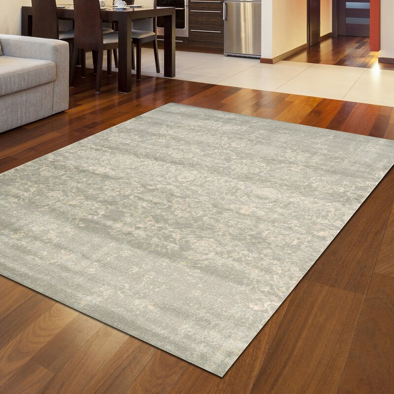 Trent Austin Design Heer Oriental Gray Area Rug Reviews Wayfair