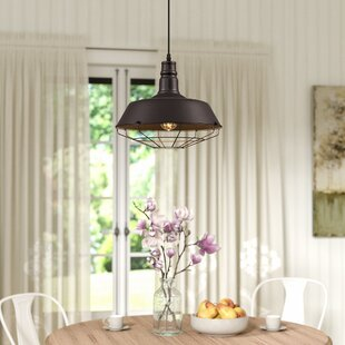 Laurel Foundry Modern Farmhouse Bouvet 1-Light Dome Pendant