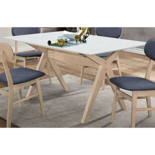 Magnolia Solid Wood Dining Table Wrought Studio
