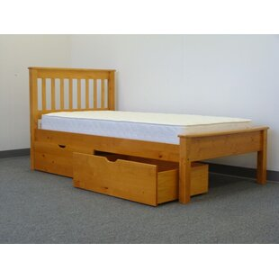 Treva Twin Slat Bed with Storage