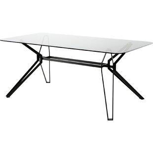 Orren Ellis Camron Metal Base Dining Table