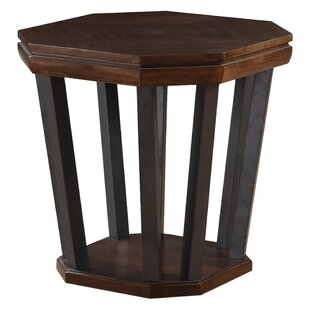 Rosenthal End Table by Alcott Hill