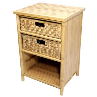 Anaya 2 Drawer Nightstand