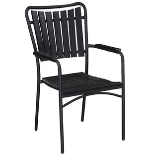 Goldenrod Southern Country Stacking Patio Dining Chair