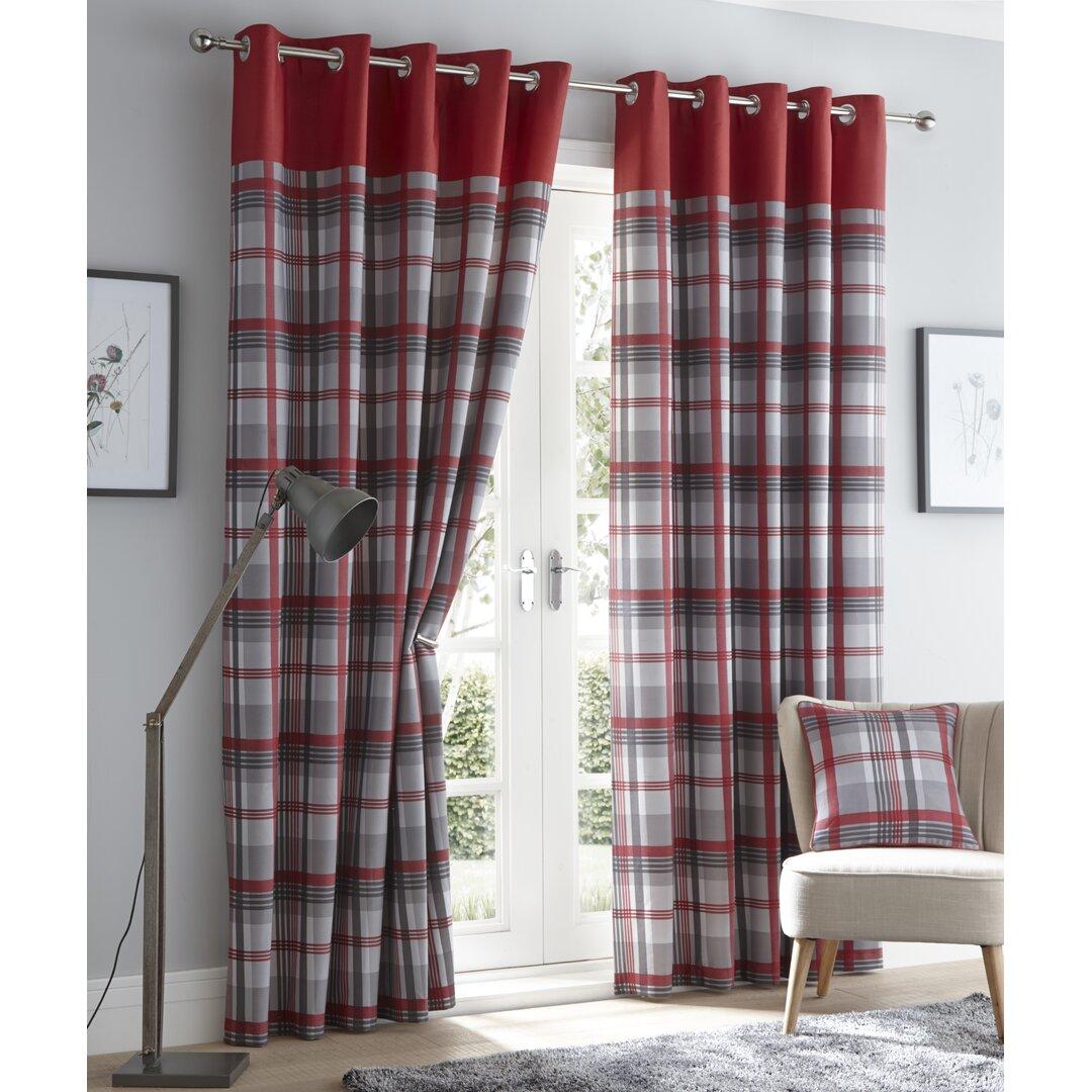 Anika Eyelet Room Darkening Thermal Curtains