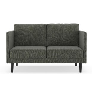 Schiff Twilled Weave Loveseat by Orren El..