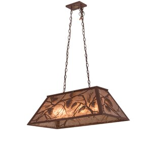 Meyda Tiffany Whispering Pines 6-Light Pool Table Light