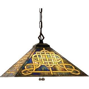 Meyda Tiffany Mission Tiffany 4-Light Pool Table Light
