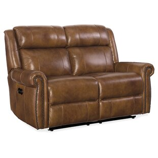 Shop Esme Leather Sectional by Hooker Furniture