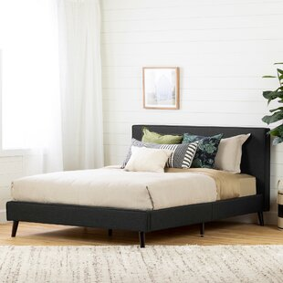 Gravity Queen Upholstered Platform Bed by South Shore