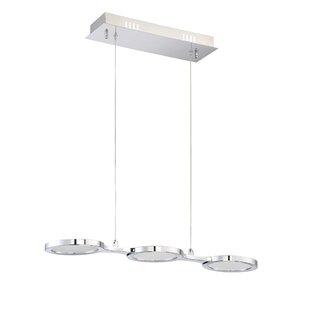 Milan 3-Light Kitchen Island Pendant by Kendal Lighting