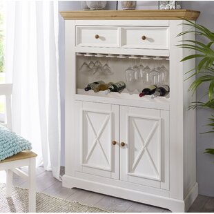 Didama Bar Cabinet With Wine Storage By Brambly Cottage