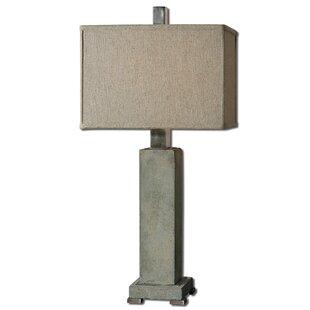 Sondra 32.5 Table Lamp with Rectangular Shade