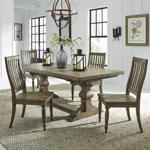 Zachariah 5 Piece Extendable Dining Set