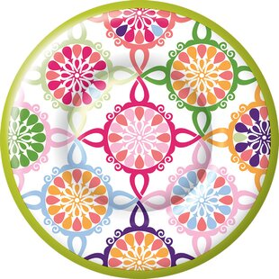Medallion Paper Dinner Plate (Set of 8)