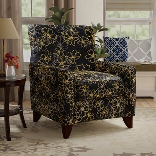 Yellowstone Valley Contemporary Armchair by Red Barrel Studio