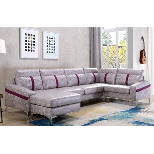 Deals Lin Sectional with Ottoman By Brayden Studio