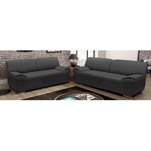 2-tlg. Sofa-Set Alfonso  Alfonso von Hokku Designs