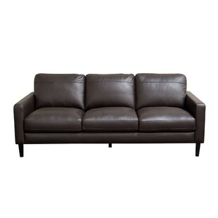 Diamond Sofa Omega Leather Sofa