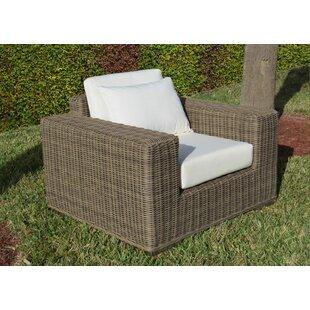 Longshore Tides Mauzac Single Patio Chair with Cushion