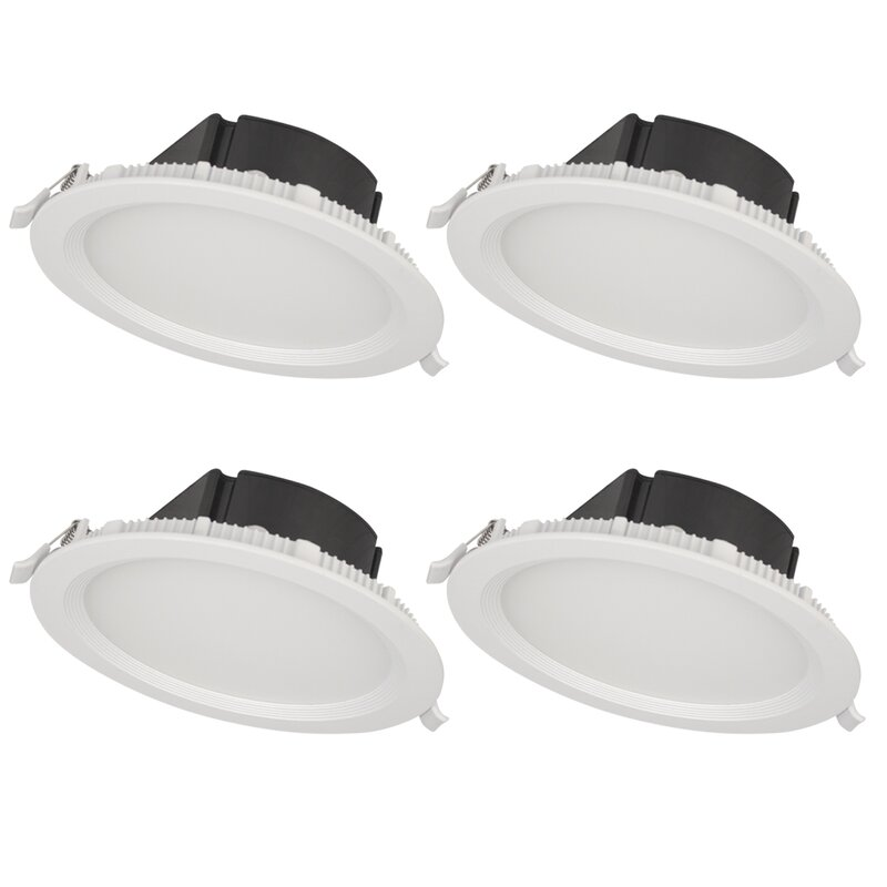 Bazz top box 7 led recessed lighting kit reviews wayfair top box 7 led recessed lighting kit aloadofball Images