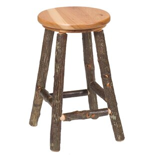 Shop For Hickory 24 Bar Stool by Fireside Lodge Reviews (2019) & Buyer's Guide