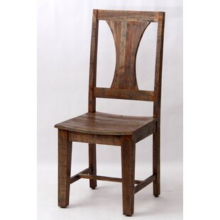 Walburg Solid Wood Dining Chair by Millwood Pines