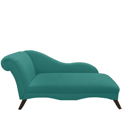 Bormann Chaise Lounge Upholstery: Linen Laguna by Darby Home Co