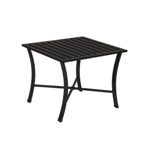 Villano Wrought Aluminum Side Table
