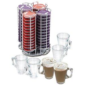 Kaffeekapselaufbewahrung für 52 Kapseln