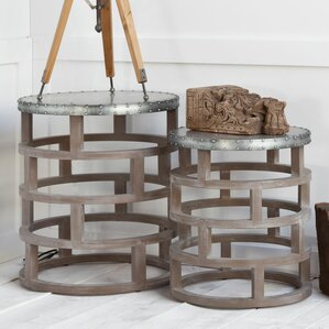 Chadwick 2 Piece Nesting Tables by Gracie Oaks