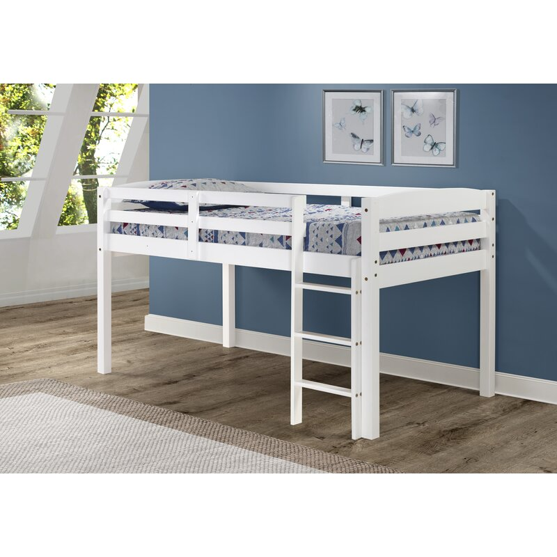 Mack Milo Junior Loft Bed Reviews Wayfair