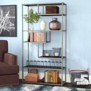 Evonna Industrial Etagere Bookcase by 17 Stories