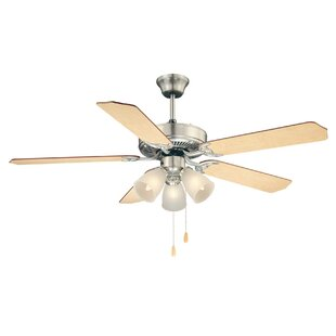 Savoy house ceiling fans youll love wayfair 52 first value 5 blade ceiling fan by savoy house aloadofball Gallery