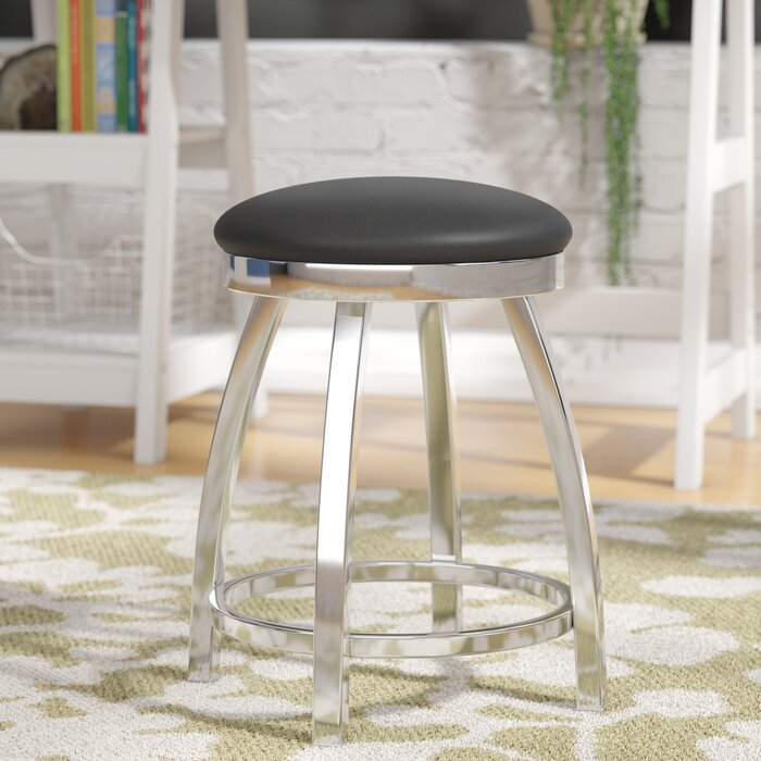 Outstanding Cragin Swivel Vanity Stool Gmtry Best Dining Table And Chair Ideas Images Gmtryco