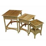 3 Piece Nesting Table by Spice Islands Wicker