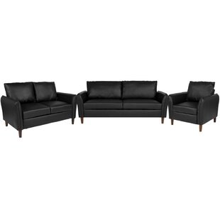 Bargain Oneill Upholstered 3 Piece Living Room Set by Williston Forge Reviews (2019) & Buyer's Guide