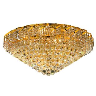 Rosdorf Park Antione 12-Light Flush Mount