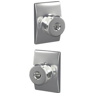 F Series Bowery Keyed Entry Knobset with Century Rosette by Schlage
