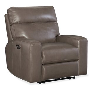 Mowry Motion Leather Power Recliner Hooker Furniture