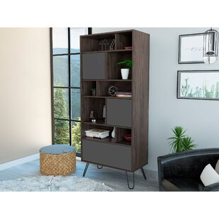 Mylah Standard Bookcase By Union Rustic
