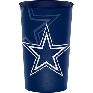 NFL Team Plastic Disposable Cup (Set of 8) By Creative Converting