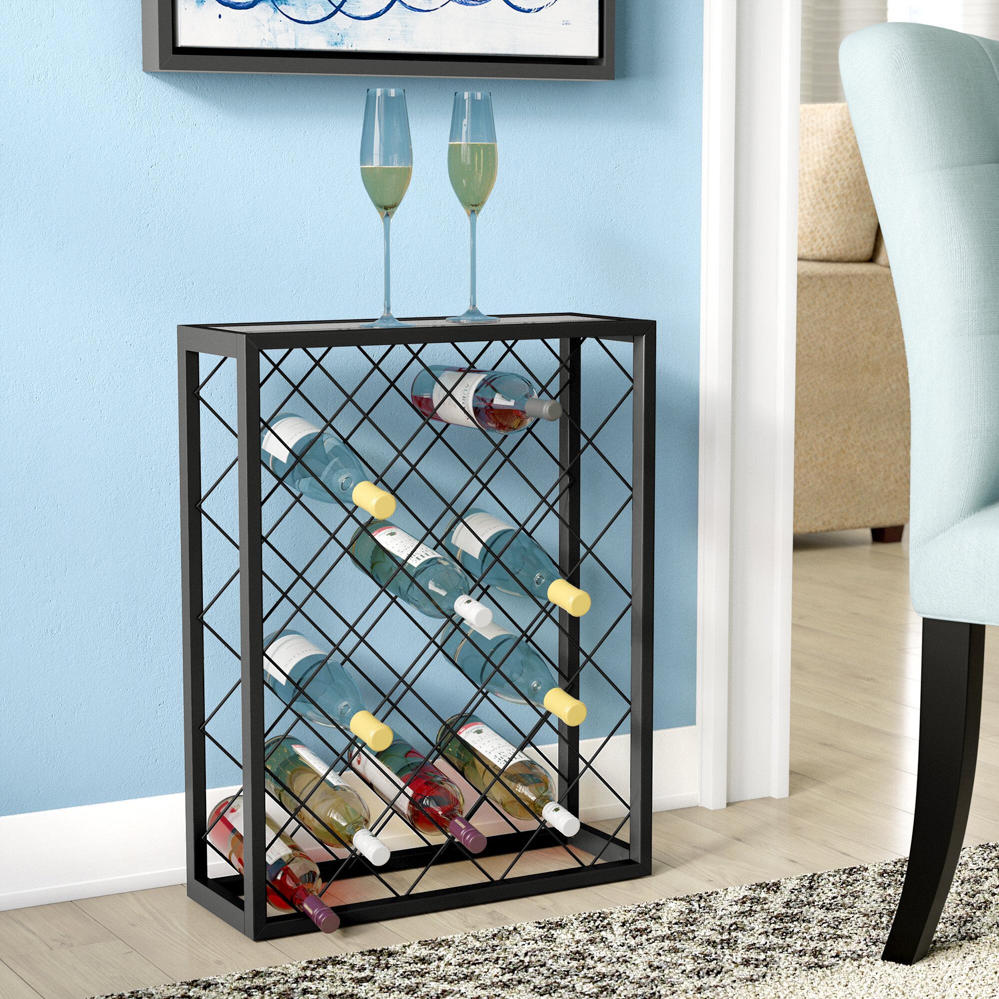 Latitude Run Fulford 32 Bottle Floor Wine Rack & Reviews | Wayfair