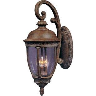 World Menagerie Diahann 3-Light Outdoor Wall Lantern