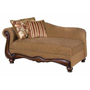 Fleur De Lis Living Goulart Left Front Arm Chaise Lounge
