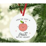 Peach Colored Ornaments Wayfair
