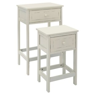 Chatelet 2 Piece Nest Of Tables By Brambly Cottage