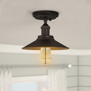 Morganton 1-Light Semi Flush M..