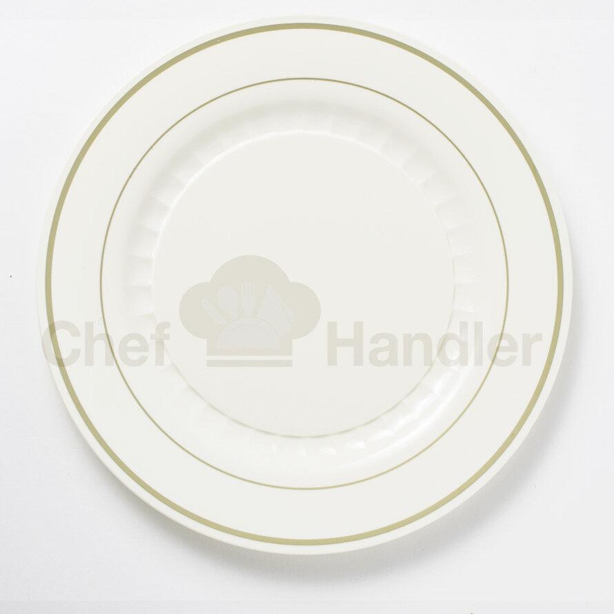 & Chef Handler Mystique 760 Piece Wedding Plastic Plate Set   Wayfair