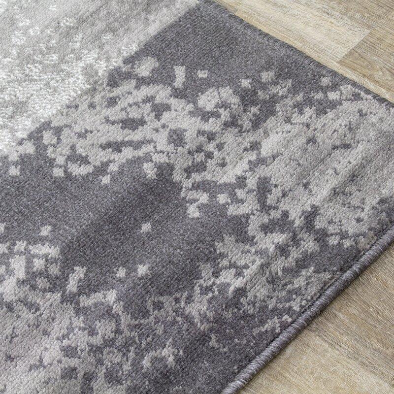 Novelle Home Steppen Geometric Gray Beige Area Rug Wayfair